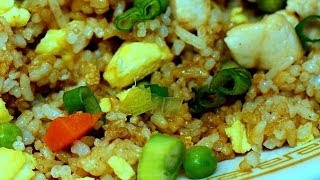 Chinese Chicken Fried Rice: Authentic Chinese Cooking.