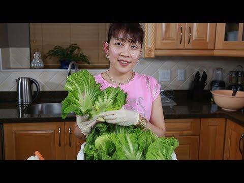 🇨🇦199》 Cách muối dưa cải chua ngon giòn để dành ăn tết | Making delicious pickled mustard green