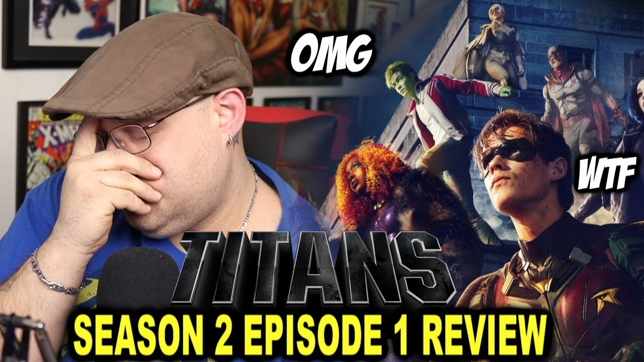 Download TITANS Season 2 Episode 1 - REVIEW!!!