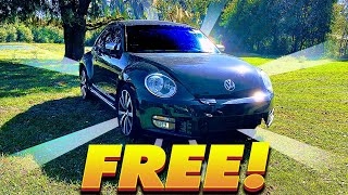 I Got a Volkswagen Beetle for FREE!