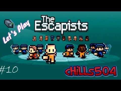 """The Escapists Ep.6 """"Solitary Confinement!"""""""