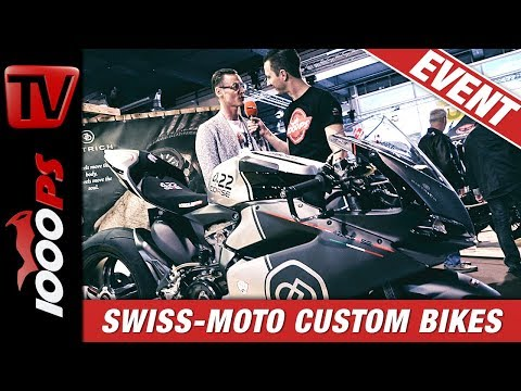 Irre Custombikes, leiwande Leute - Swissmoto Messerundgang Teil 2