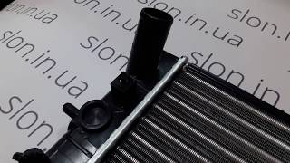 Радиатор охлаждения двигателя  HYUNDAI Accent grog Корея PZ-HD-1156, 25310-25050
