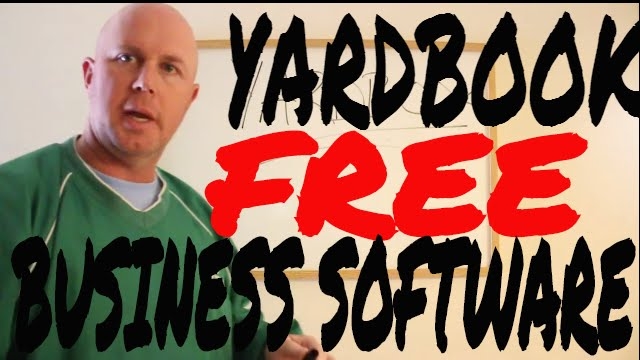 sticking with yardbooks free lawn care software