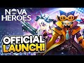 NOVA HEROES | Official Launch Gameplay!