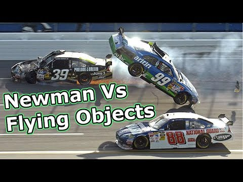 Ryan Newman Vs Flying Objects