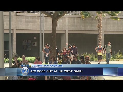 UH-West Oahu students deal with no AC, windows that won