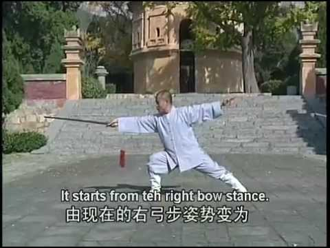 Shaolin kung fu dragon-fountain sword
