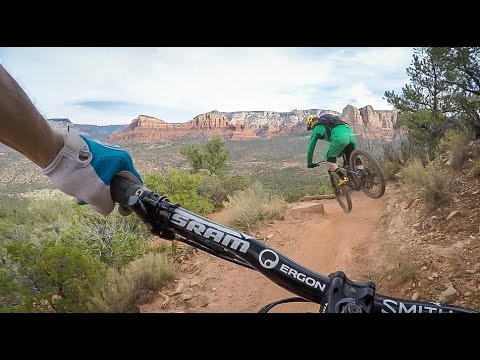 Mountain Biking Hiline,  Sedona Arizona