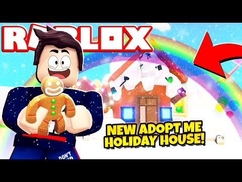 *FREE* NEW HOLIDAY HOUSE UPDATE in Adopt Me NEW Adopt Me Holiday House Update Roblox