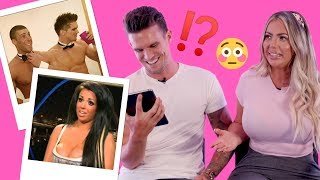 Gaz Beadle and Holly Hagan react to old Geordie Shore memories!