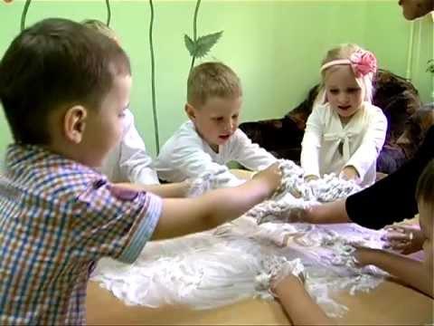 Песочная терапия на занятиях с детским педагогом-психологом в Познайке
