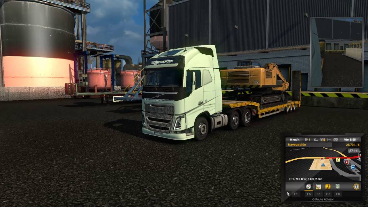 Euro Truck Simulator 2 /ქართულად/ რეისები