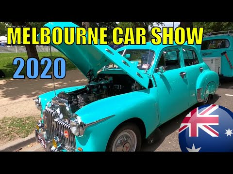 MELBOURNE CITY CLASSIC CAR SHOW AUSTRALIA DAY 2020