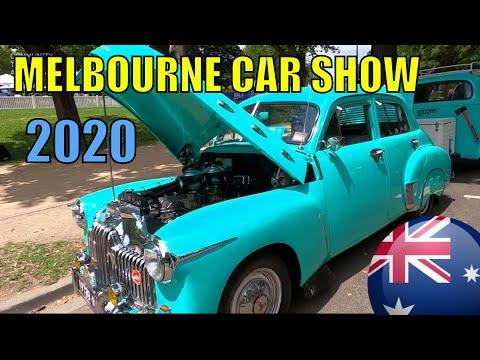 MELBOURNE CITY CLASSIC CAR SHOW AUSTRALIA DAY 2020