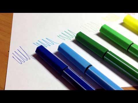 Тест капиллярных ручек|лайнеры|Art Idea