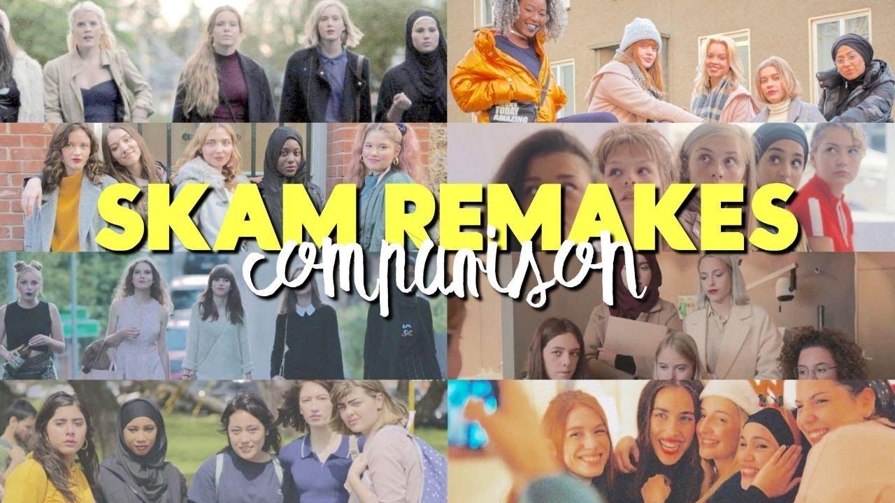 Download SKAM Remakes Comparison {Druck, Italia, Austin, España, France, NL, wtfock}