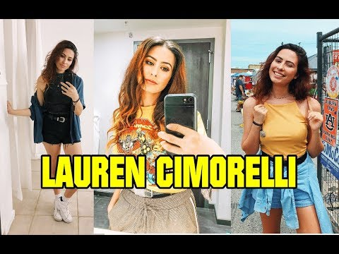 Lauren Cimorelli Age Height Weight Body Type Eye Hair Color LifeStyle
