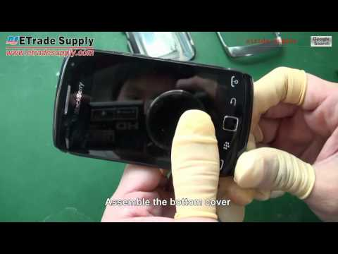 blackberry curve 9380 reassembly video/repair tutorials/repair guide