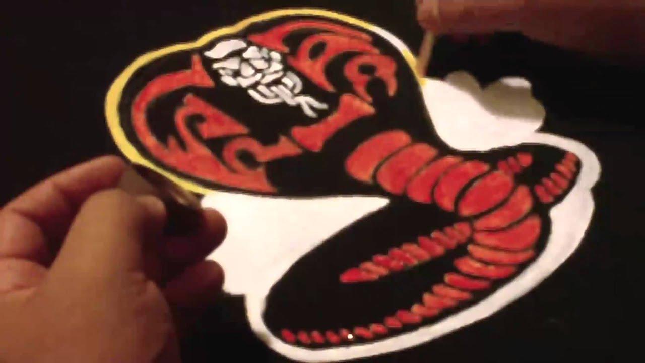 Cobra Kai Shirt: JZ Airbrush Studio