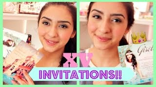 Quince Basics: Your Invitations!