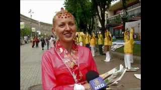 Танец с драконом и костюмы фей представили в Киеве