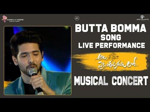 Butta Bomma Live Performance @ Ala Vaikunthapurramuloo Musical Concert  Armaan Malik, Thaman