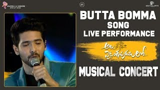 butta-bomma-live-performance-ala-vaikunthapurramuloo-musical-concert-armaan-malik-thaman