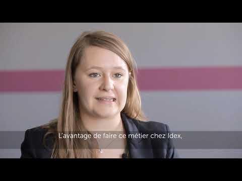 Portrait de collaborateur Idex : Ingénieure commerciale