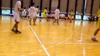 2015年度関東学生ハンドボール秋季リーグ  明星大学vs国際武道大学