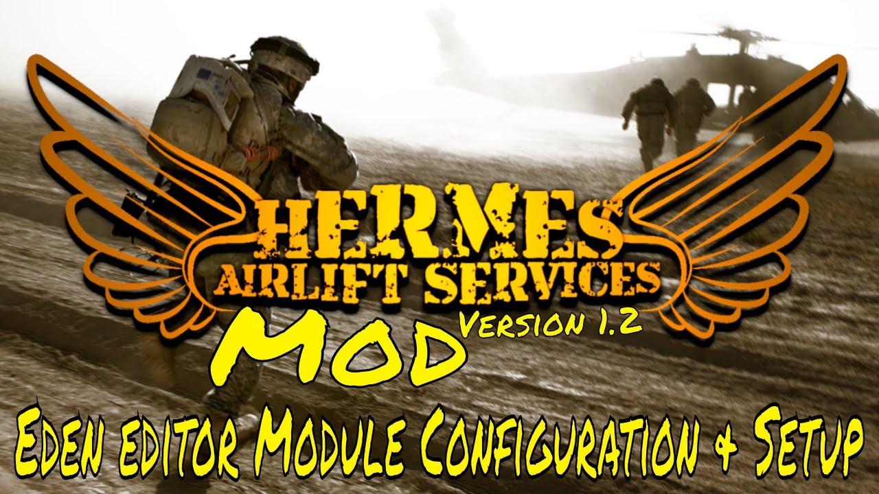 Hermes Airlift Services Mod v1 2 - (Arma3 Mods)