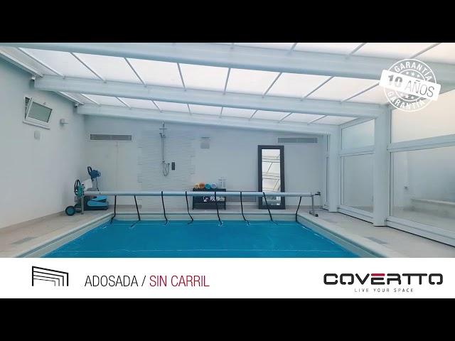 COVERTTO. Tarraco adosada - Cubierta telescópica sin carril