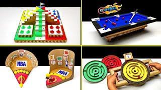 TOP 4 Amazing Diy Cardboard Desktop Games