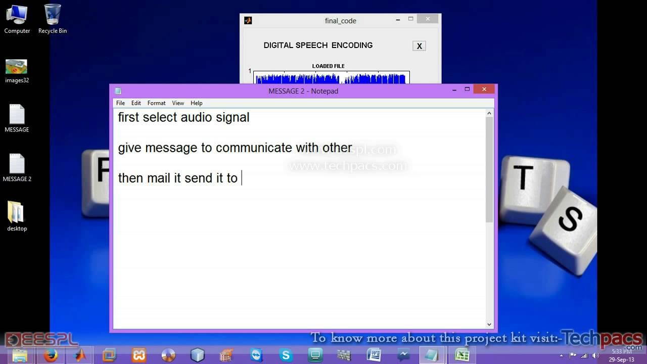 LSB based audio steganography