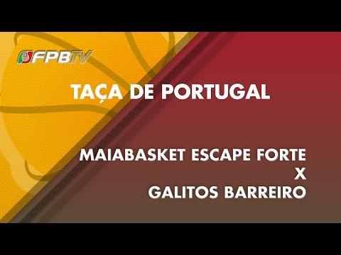 TAÇA DE PORTUGAL   MAIABASKET X GALITOS BARREIRO