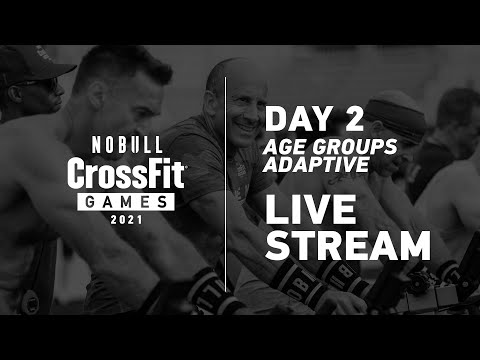 Wednesday: Day 2, Age Group and Adaptive Events— 2021 NOBULL CrossFit Games