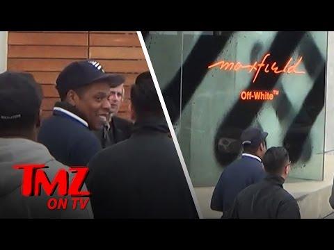 Jay Z On The TMZ Celebrity Tour!   TMZ TV