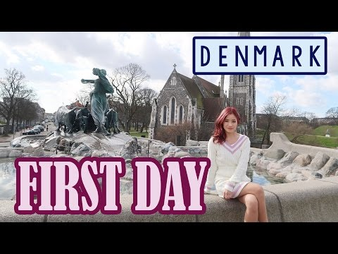 First Day in DENMARK | Sightseeing | KimDao
