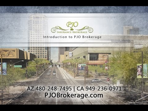 Introduction to PJO Brokerage - AZ CA Business Insurance Specialists