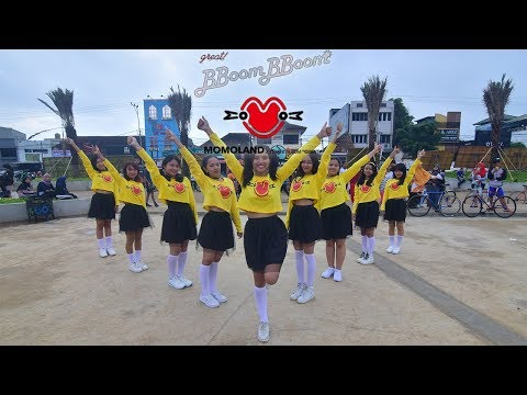 [KPOP IN PUBLIC CHALLENGE] MOMOLAND _ BBoom BBoom Dance Cover by Girls' Invasion from Indonesia