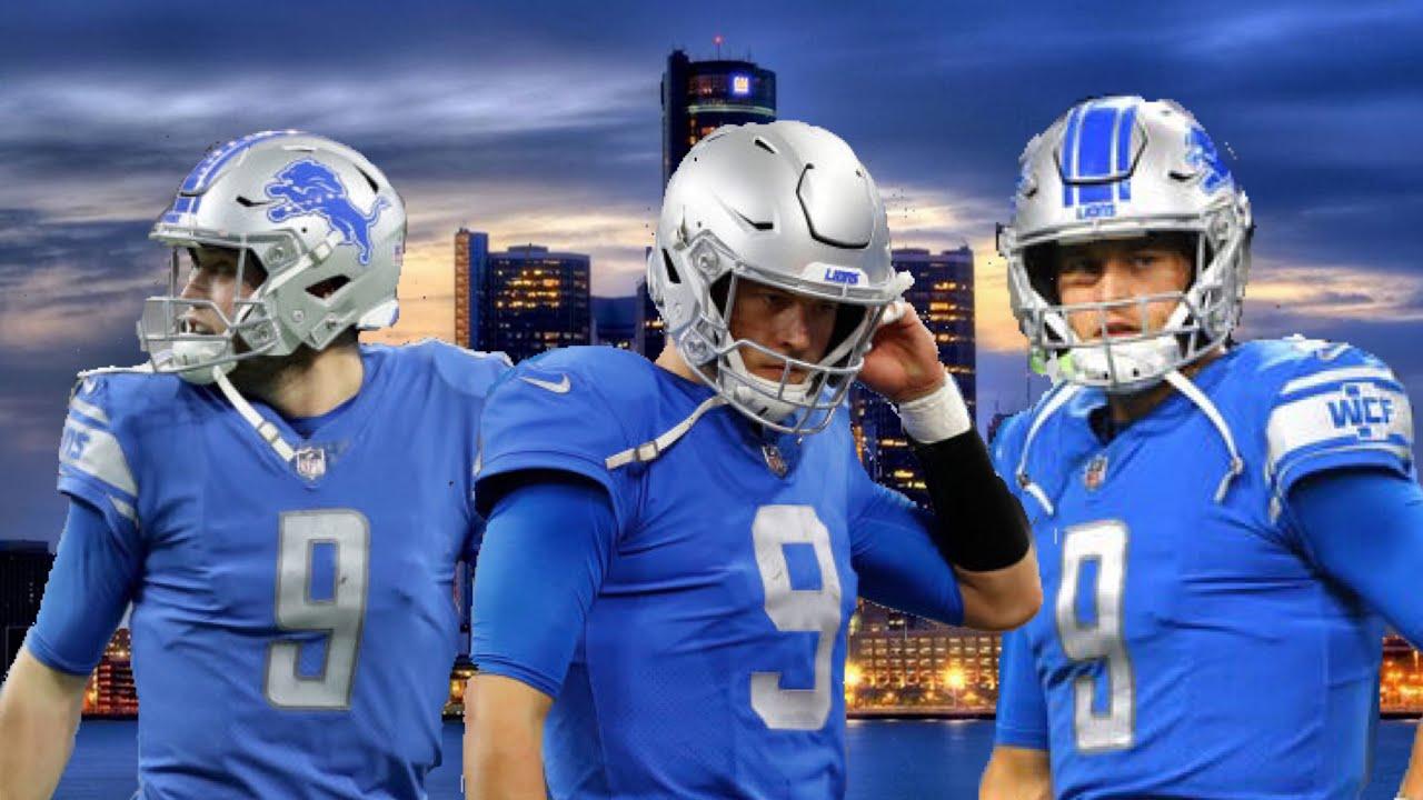 2bd5f293 Detroit Lions Matthew Stafford played with a broken freakin back last year