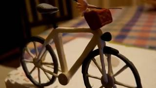 how to create a bicycle in fondant