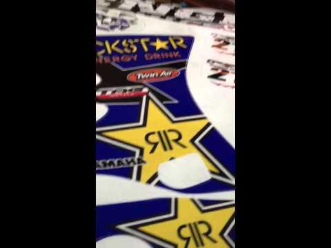 Yz 125 RockStar Energy Graphic Kit (Senge Graphics)