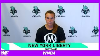 Sabrina Ionescu on 33 pts 6/10 from 3 in Loss vs Dallas Wings 7.29.20
