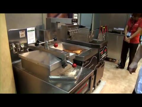 Henny Penny Pressure Fryer Demo  YouTube