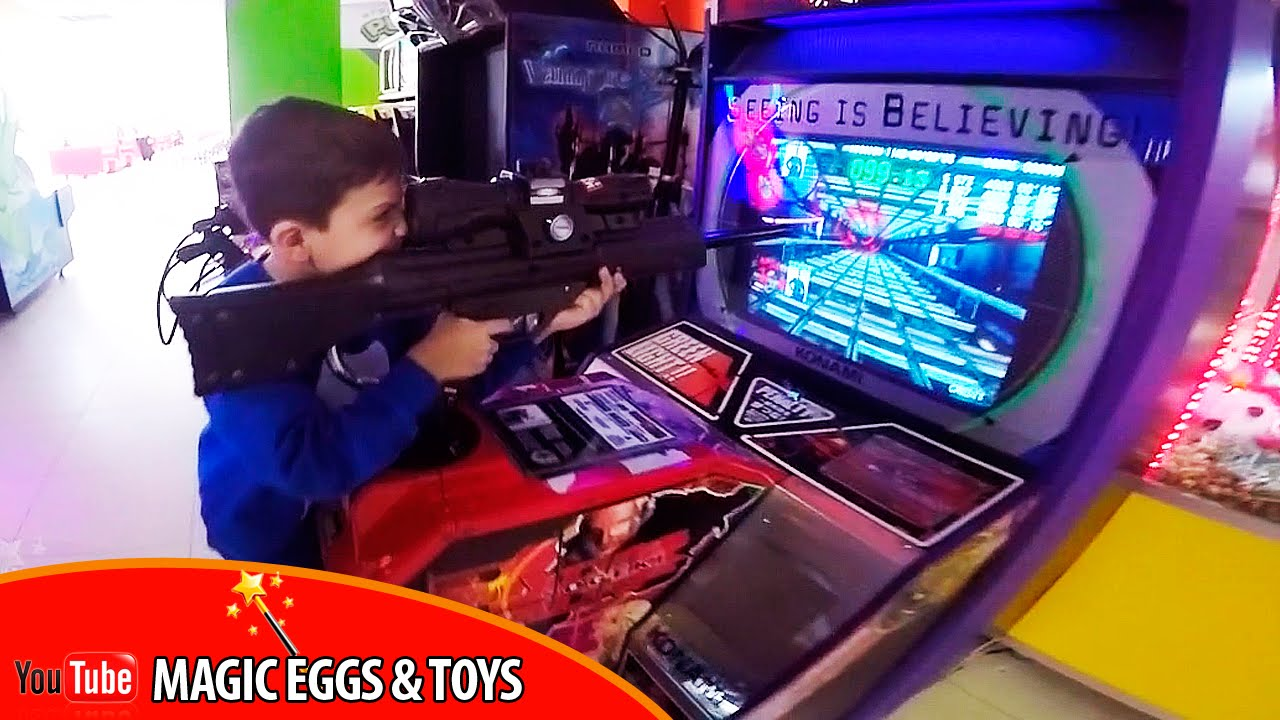 Детский игровой автомат купить