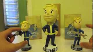 Fallout 3 Bobblehead unboxing