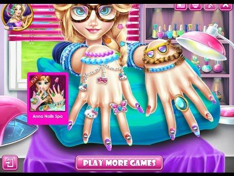 NEW Мультик Онлайн для девочек—Дракулаура Маникюр—Игры для детей