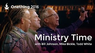 Ministry Time with Bill Johnson, Mike Bickle and Todd White (Onething 2016) thumbnail