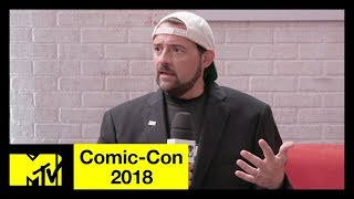 Kevin Smith on His Heart Attack, Avengers 4 & the DC Universe | Comic-Con 2018 | MTV